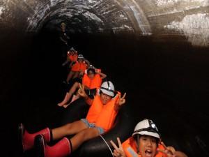 隧道の中の写真