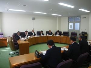 福島県議会民進党・県民連合議員会での様子