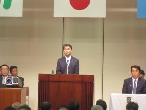 進藤金日子参議院議員祝辞