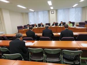 自由民主党福島県議会議員会での様子